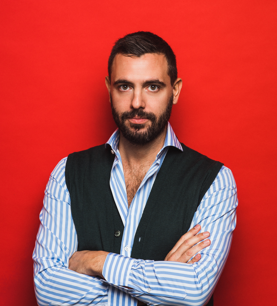 Luca Ciarpella, Client Manager / Co-Founder Luther Dsgn