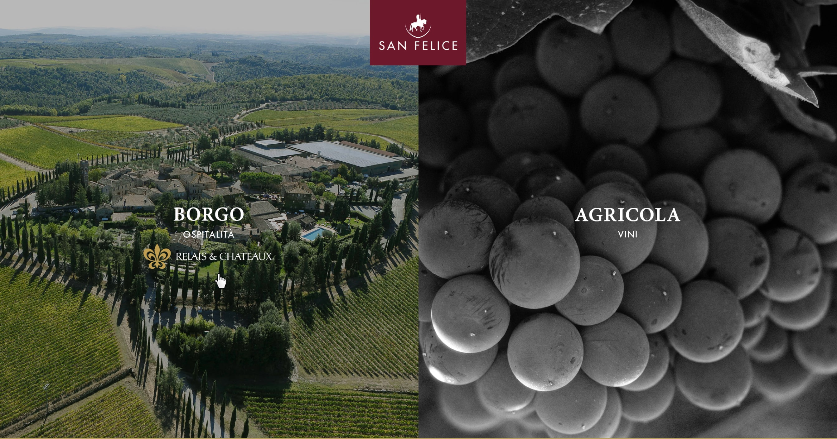 Storytelling and web strategy for Borgo San Felice Hotel - Design by Luther Dsgn