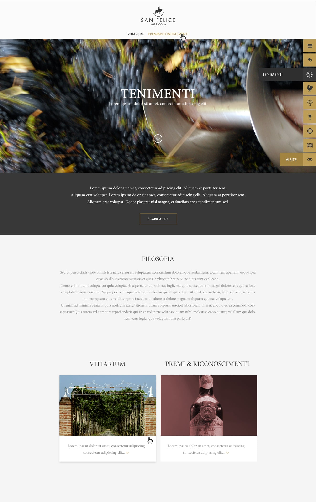 Luther Dsgn developed the hospitality website of Borgo San Felice Hotel