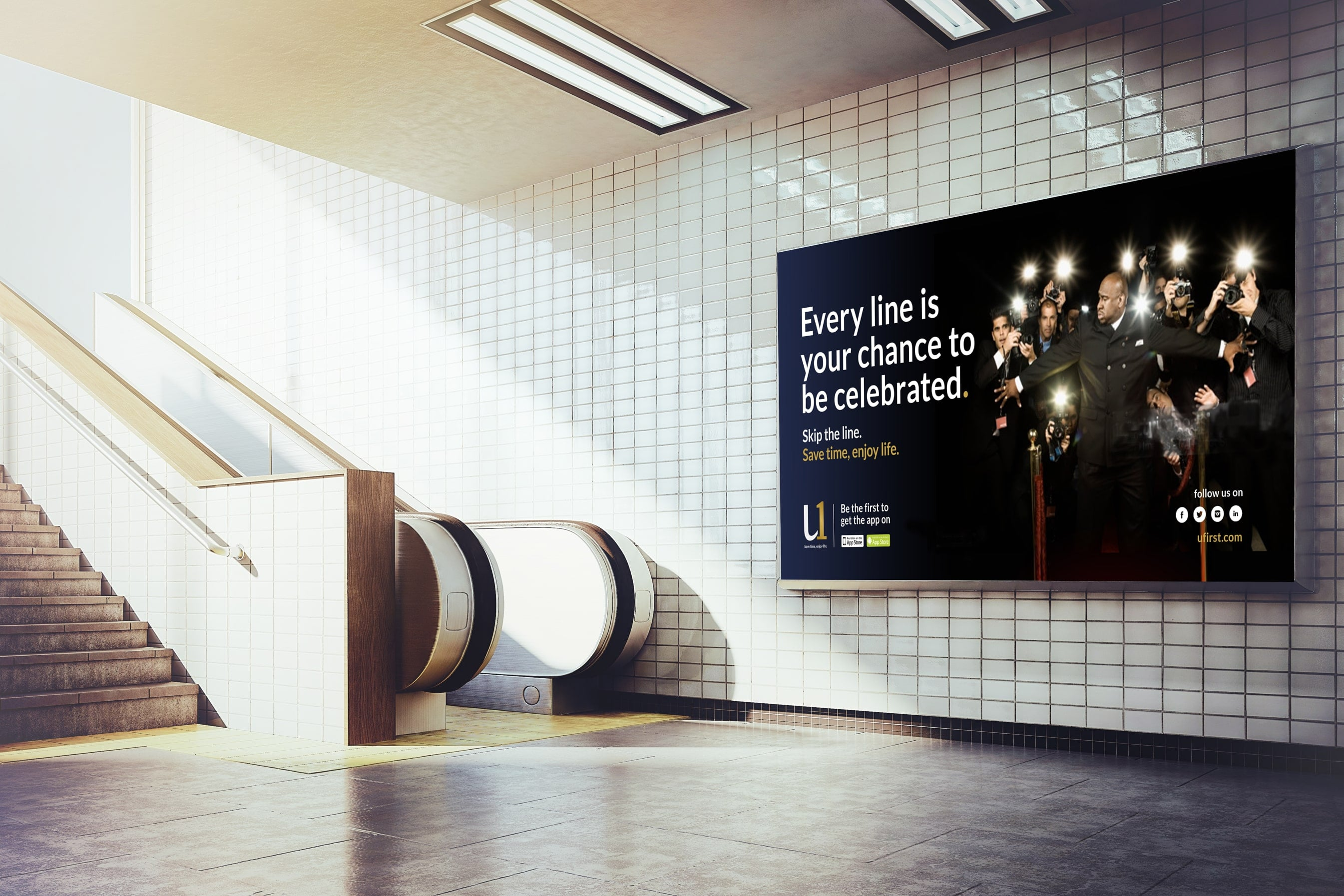 Luther Dsgn Adv agency conceived the creative marketing campaign for UFirst