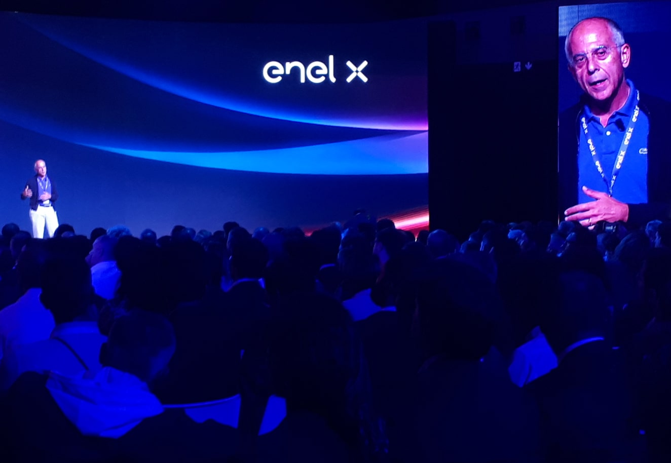 Storytelling marketing for the event design of Enel X e-Mobility 2018 - Luther Dsgn agency
