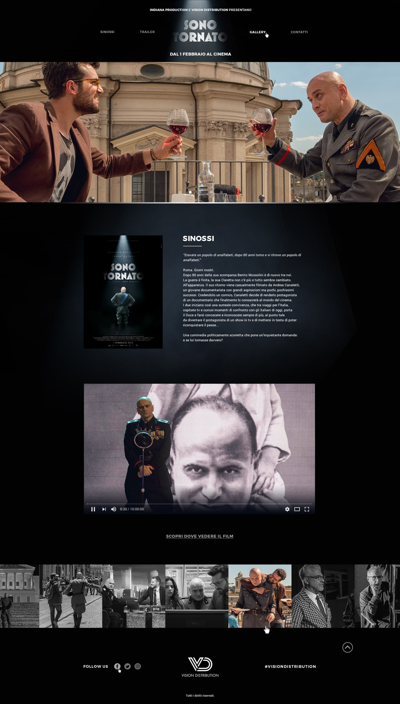 Ux and website design company Luther Dsgn supports Vision Distribution - Sky