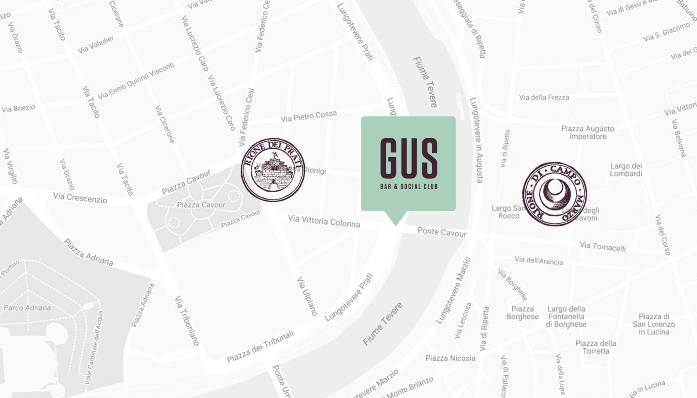Restaurant brand identity for Gus Social Club - Luther Dsgn