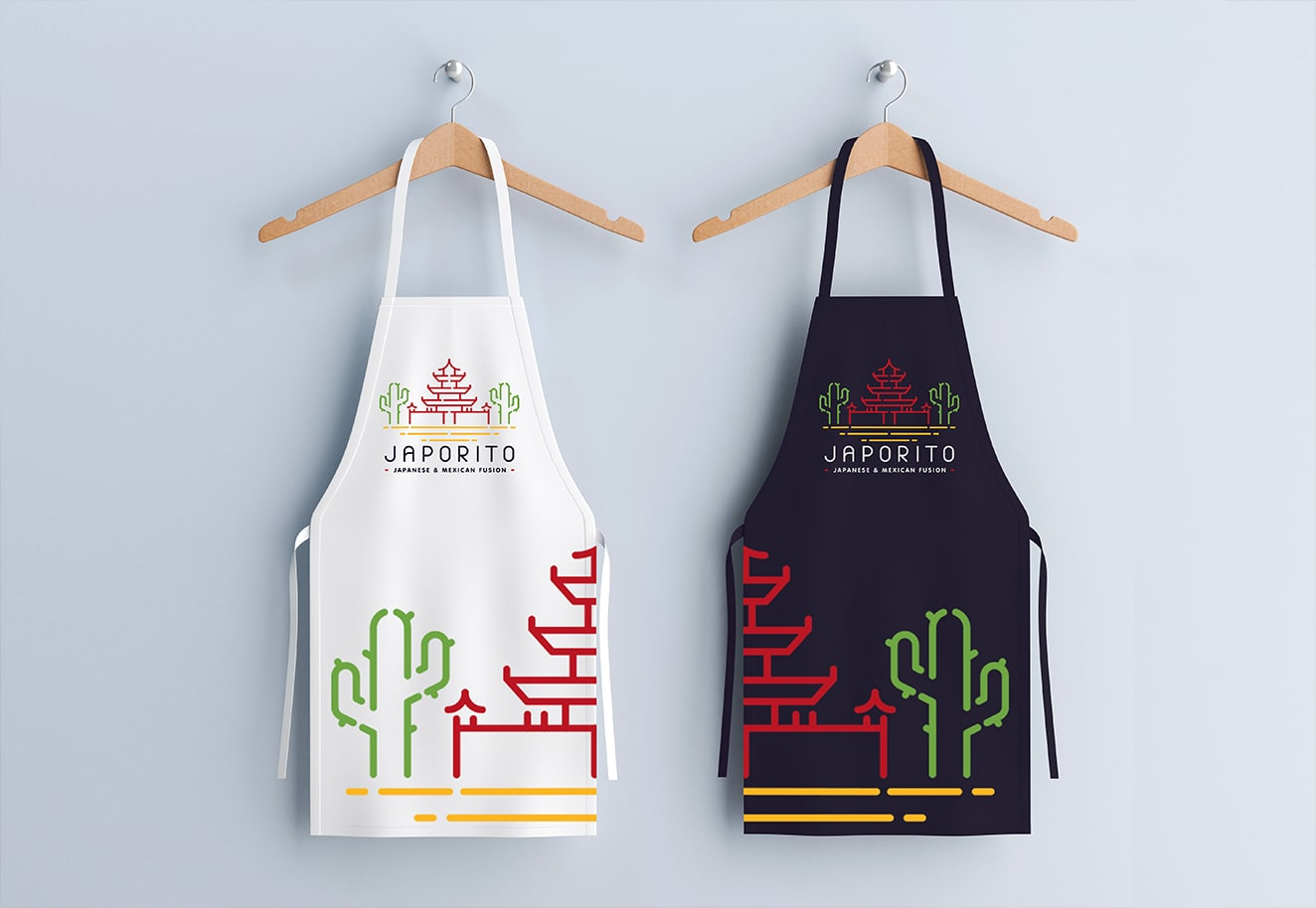 Food branding agency Luther Dsgn for Japorito