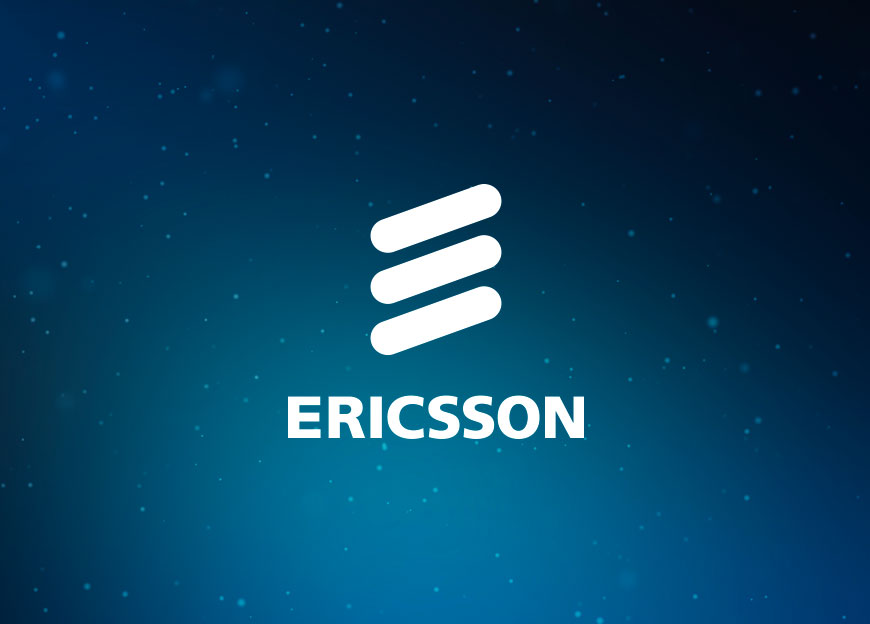 Professional presentation design for Ericsson – Luther Dsgn agency
