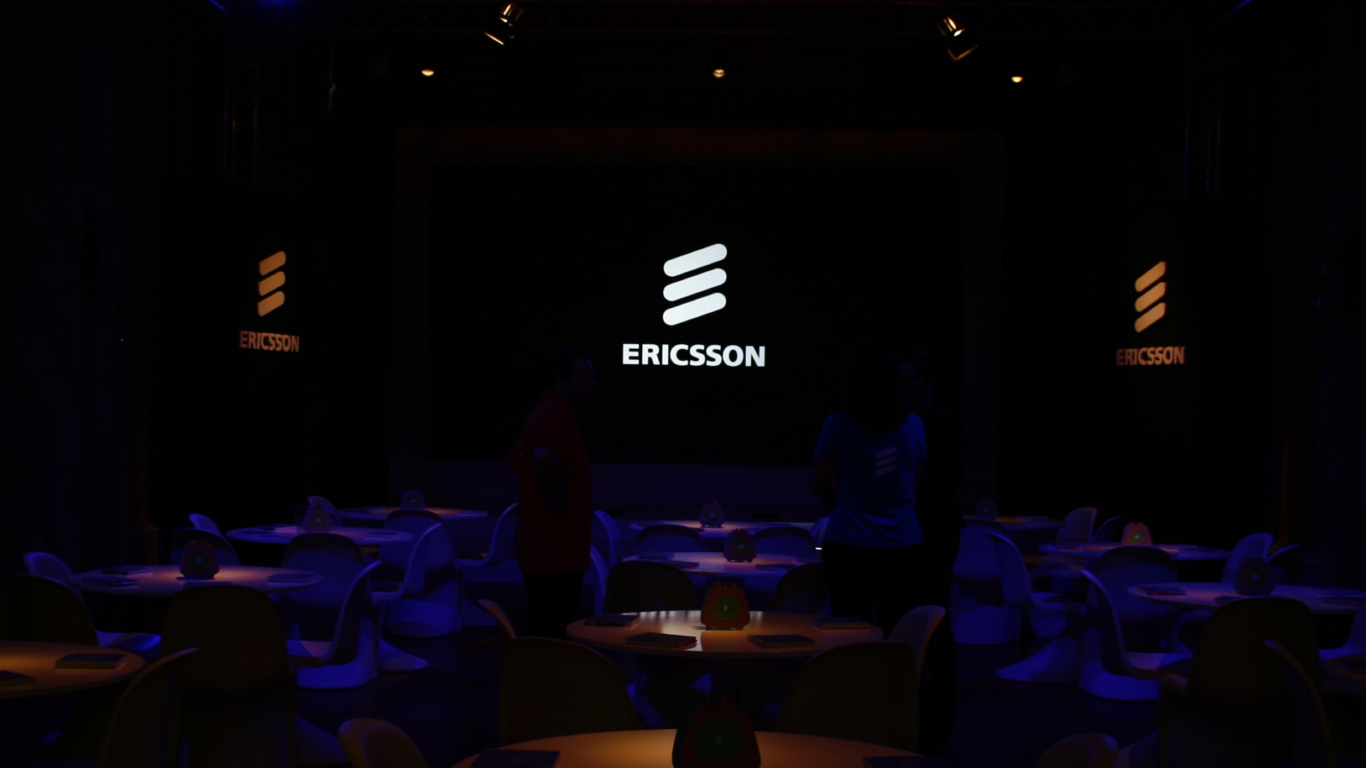 Luther Dsgn Presentation design agency for Ericsson