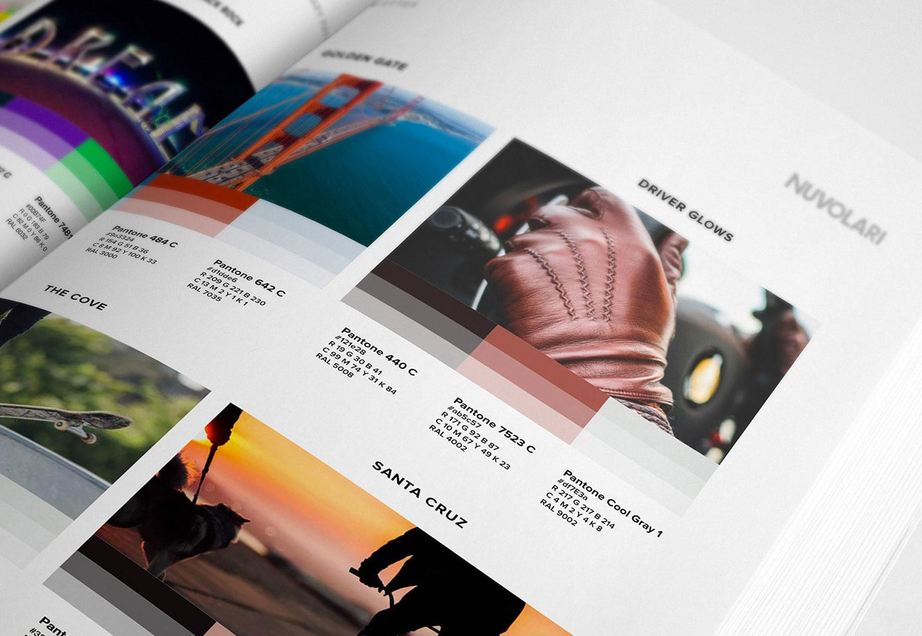 Ecommerce website design and branding services by for Nuvolari - Luther Dsgn ecommerce development agency