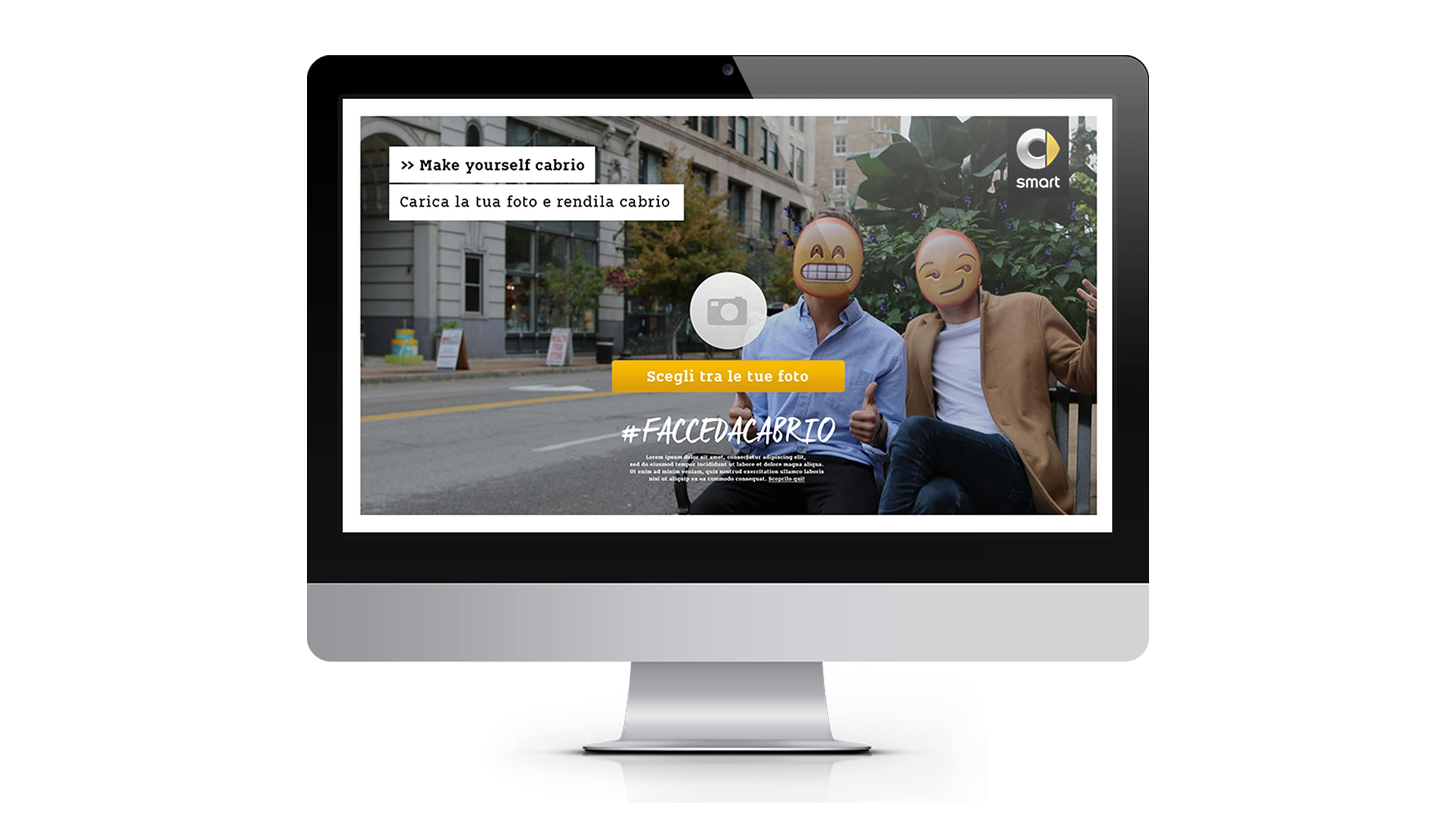 Automotive marketing & brand activation for Smart - Luther Dsgn agency