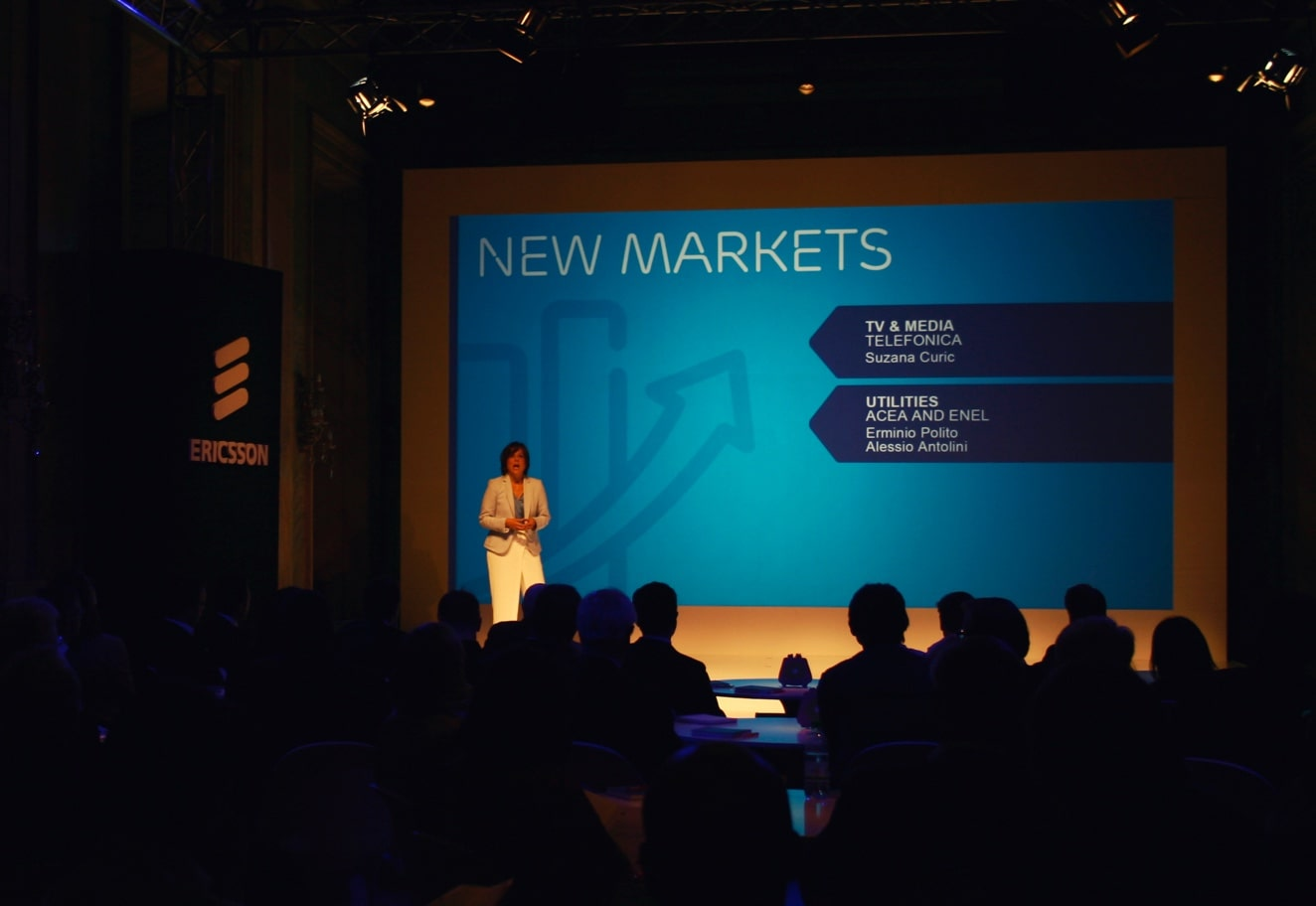 Interactive company presentation for Ericsson - Luther Dsgn agency