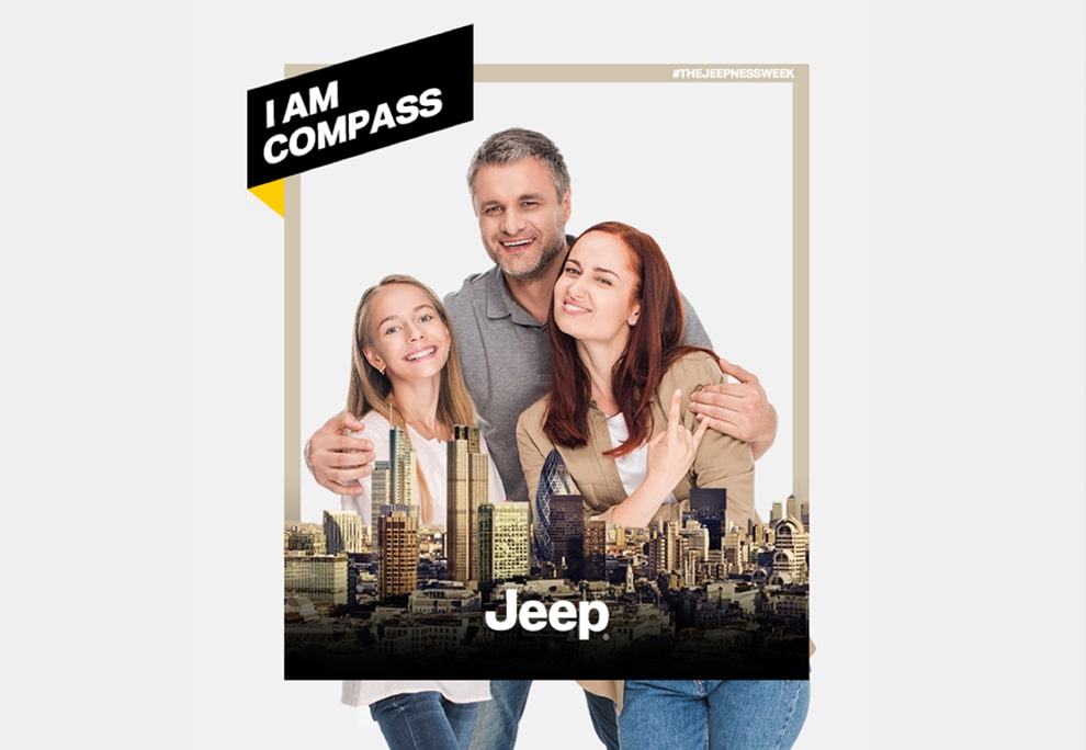 Brand experience agency Luther Dsgn for Jeep Automotive