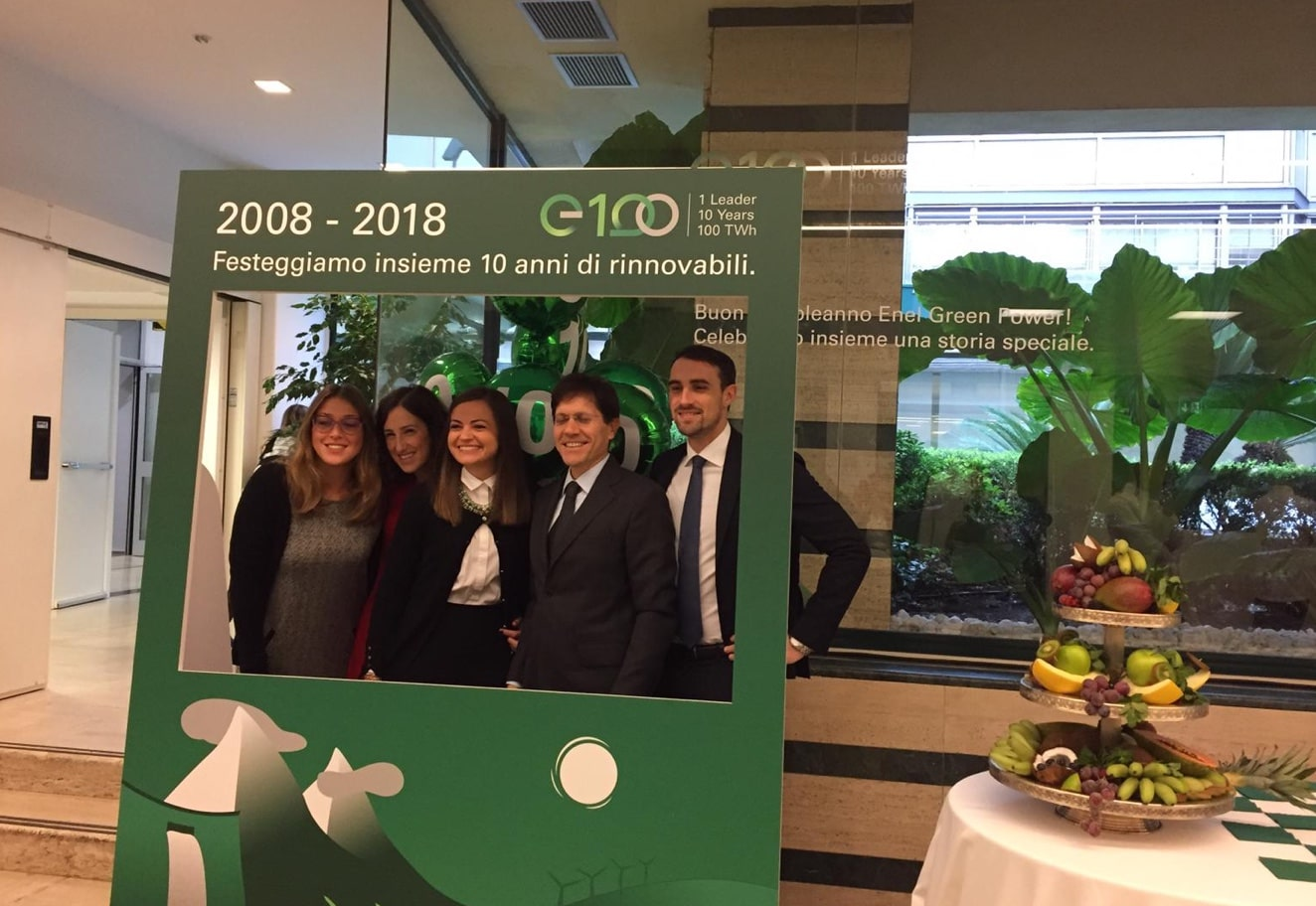 Corporate event management for 10-year Enel Green Power - Luther Dsgn