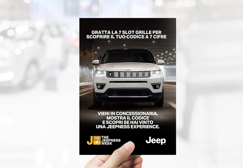 Luther Dsgn Brand activation agency for Jeep