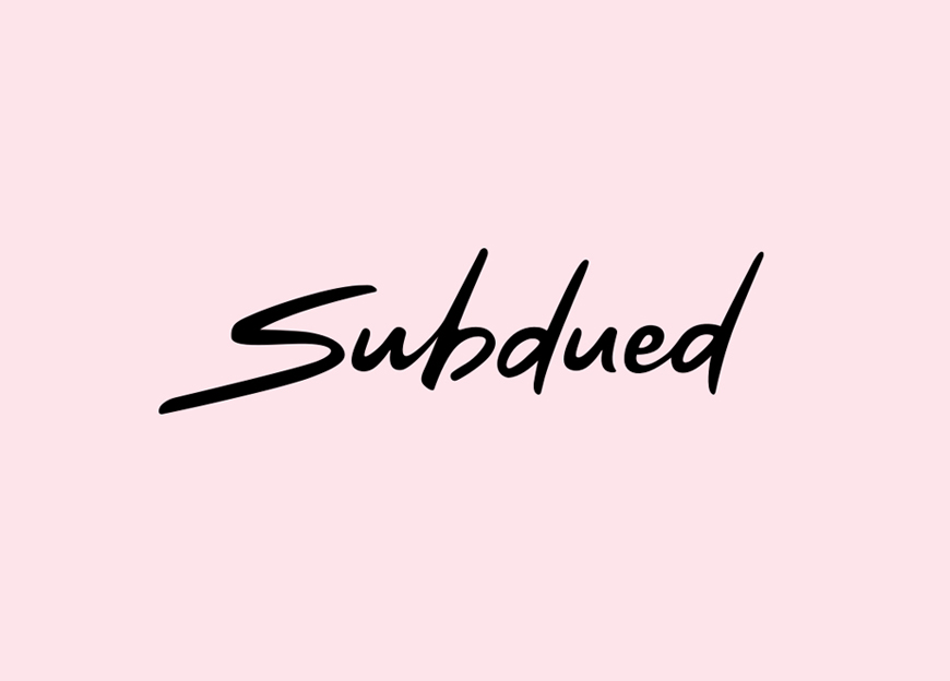 Responsive web development and rebranding for Subdued – Luther Dsgn company
