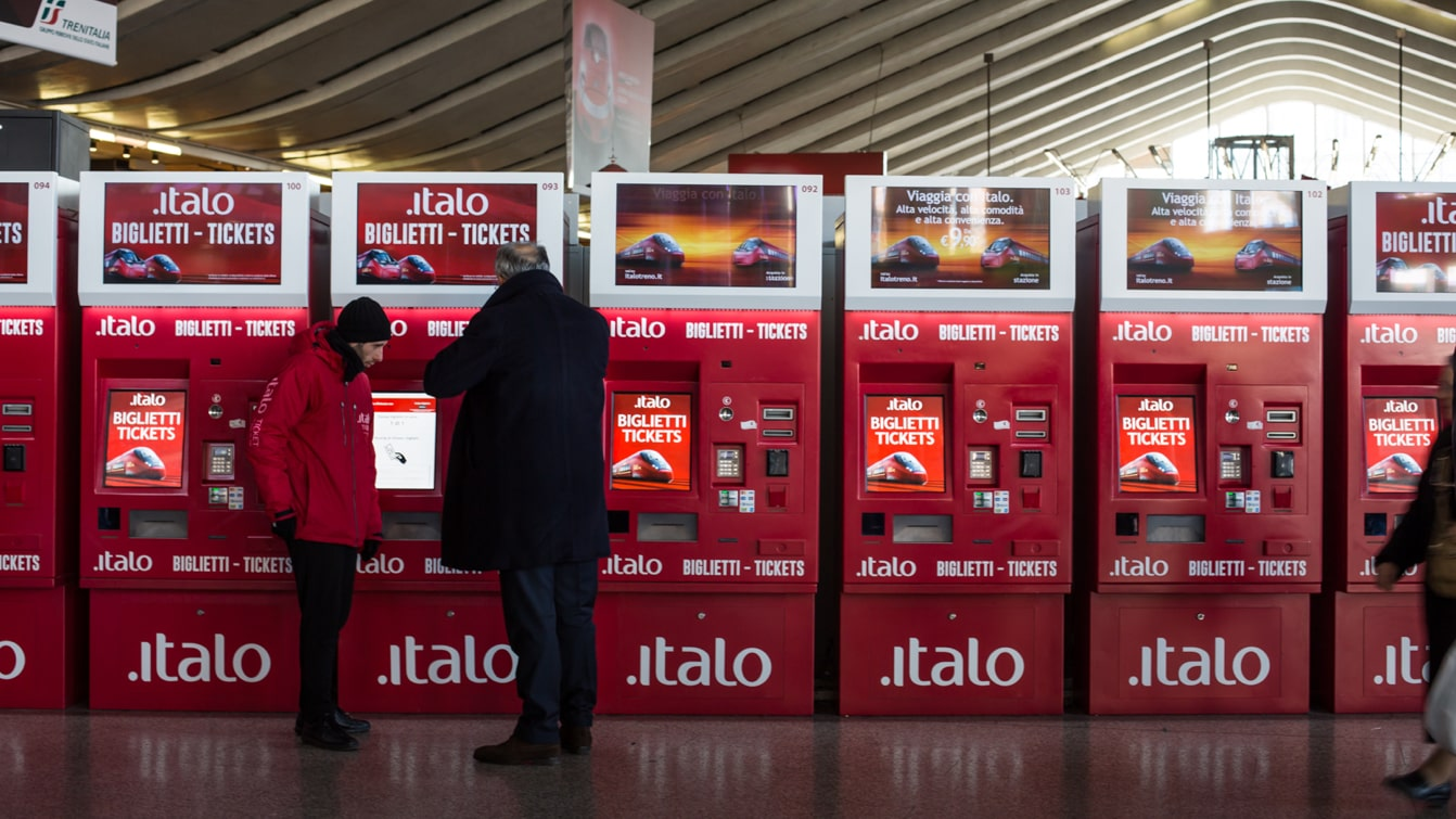 Luther Dsgn Btl marketing agency and advertising for Italo