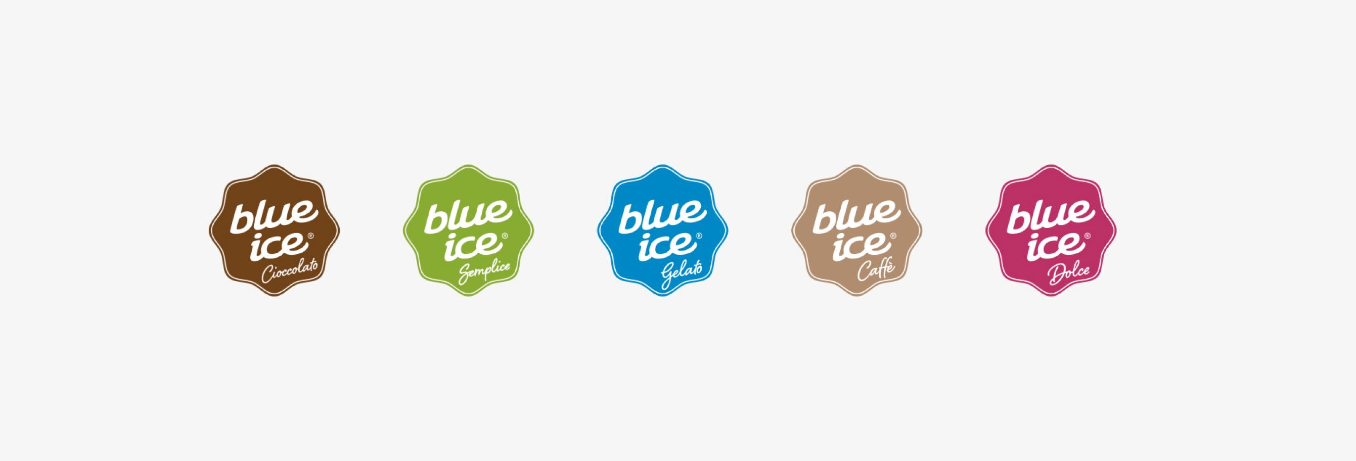 New corporate image for Blue Ice – Logo design agency Luther Dsgn