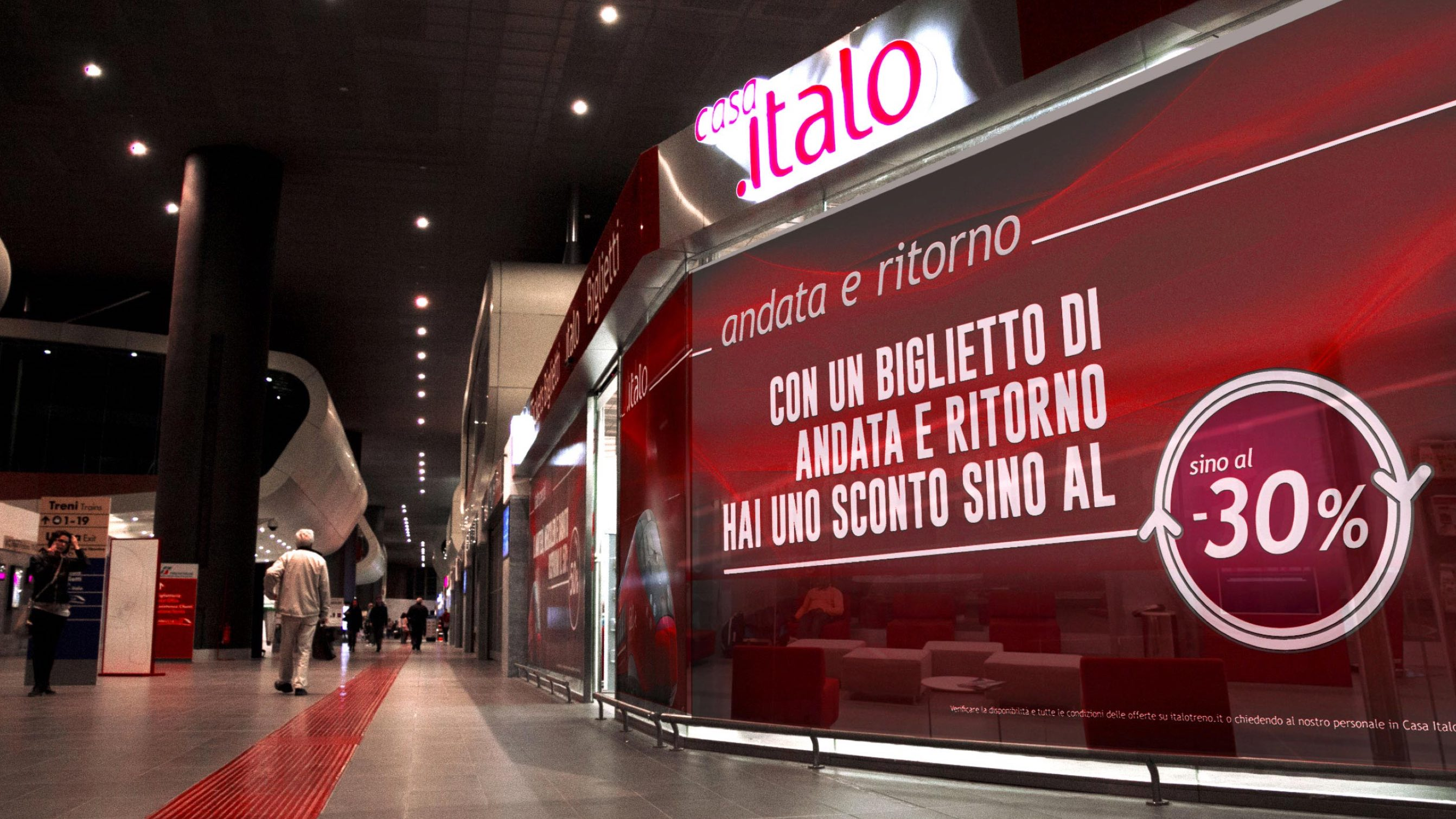 Visual communication and Btl agency for Italo – Luther Dsgn