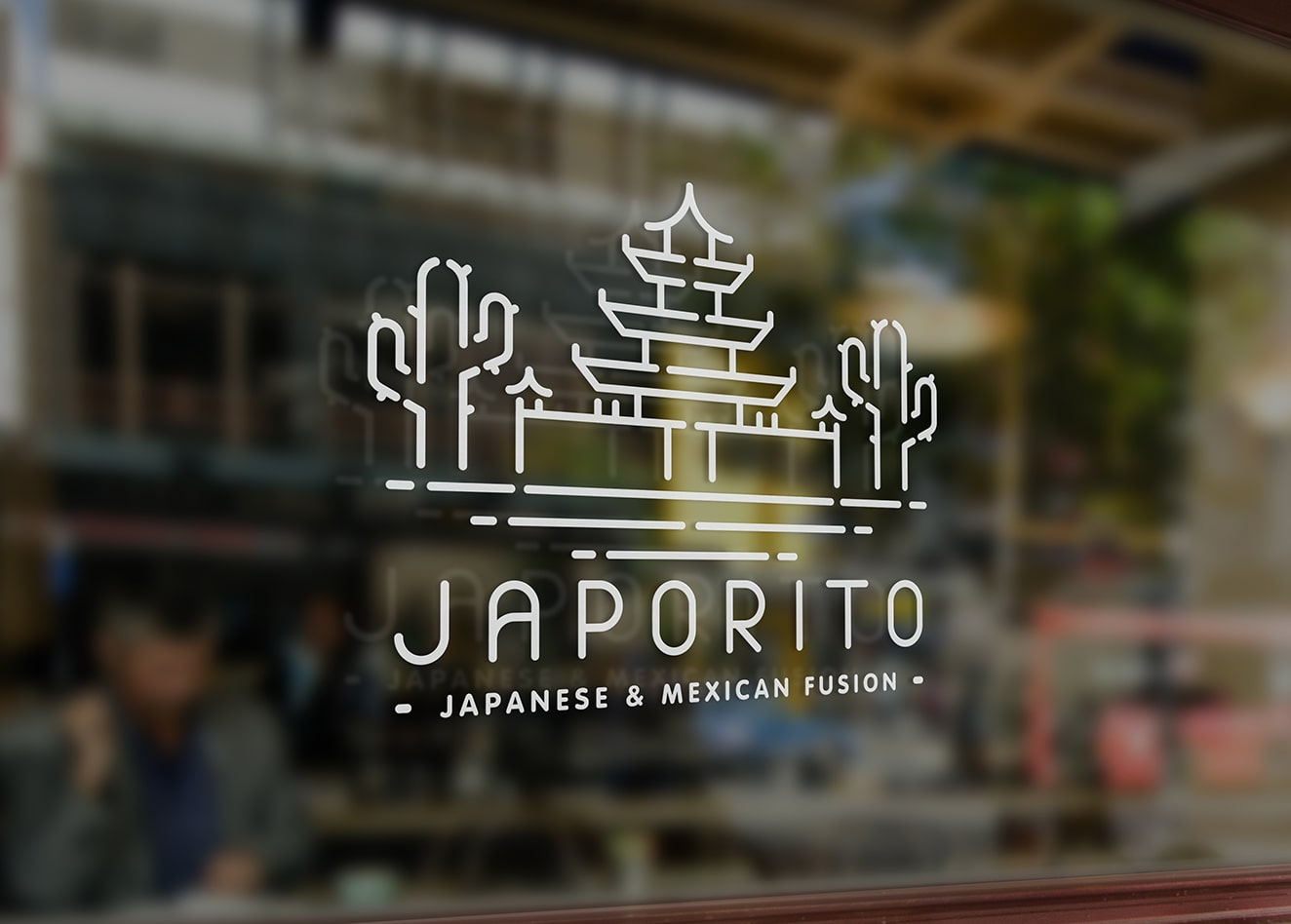 Food communication and identity for Japorito restaurant - Luther