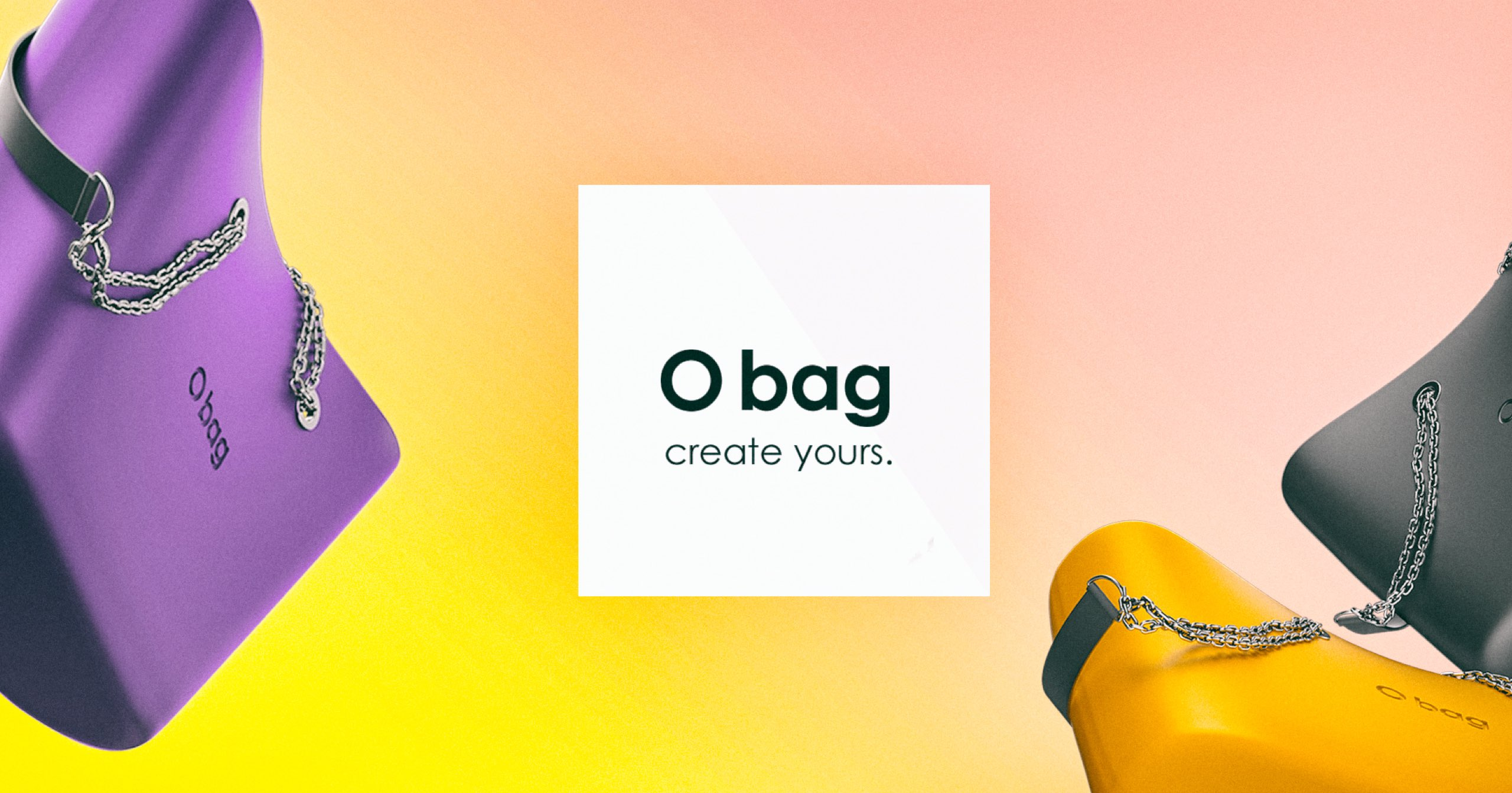 Brand campaign for O Bag - Luther Dsgn Visual identity agency