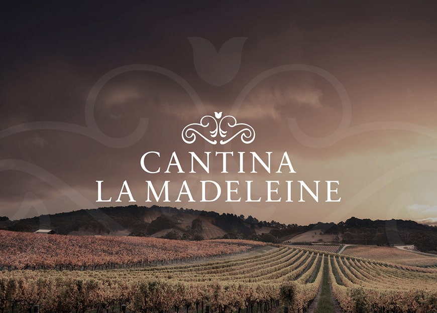 Wine branding design for La Madeleine winery – Luther Dsgn agency